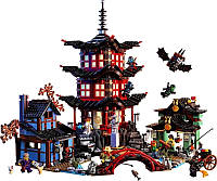 Конструктор Bela Ninja 10427 Храм Аэроджитцу: 2031 деталь, пластик, 12 фигурок ниндзя, 6+ лет