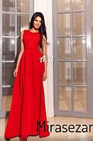 Женское вечерние платье ( Креп дайвинг  )