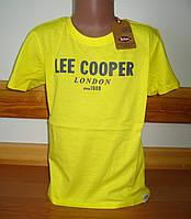Детская футболка для мальчика Ли купер, Lee cooper  6-16лет