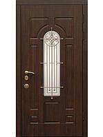 """Двери входные бронированные элит МДФ с ковкой Fortlock модель """"Русь 5"""""""