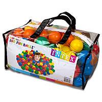 Набор мячей для сухого бассейна, игрового центра 49602 Intex
