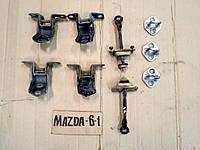 Ограничитель, петля замка, двери задней для Mazda 6 - 2004 г.в. GJ6A72270B, GJ6A58361A
