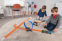 Трек хот вилс переносной без границ Hot Wheels Workshop Track Builder Starter Kit