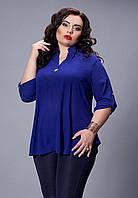 Блуза нарядная с удлиненной спинкой