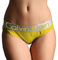 Женские стринги Calvin Klein steel, желтые