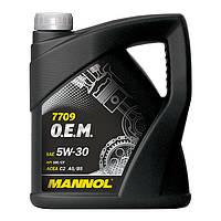 Моторное масло MANNOL 7709 O.E.M. 5W-30 for Toyota Lexus 60л