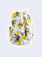 Отличный 3D-рюкзак Лимоны с классным рисунком.