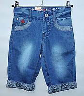 Бриджі  для хлопчика  джинсові  3-7 років  Moyaberva