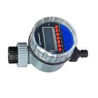 Таймер для полива электронный с шаровым клапаном// AQUALIN