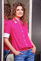 Женские блузы футболки | блуза Леонсия к/р