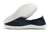 Кеды мужские Wonex без шнурков темно-синие