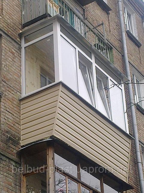 Наружная обшивка балконов, цена 200 грн., заказать в киеве -.