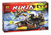 Bela Ninjago конструктор 10394: 211 деталей, 2 фигурки, 2 Скримера, оружие, 6+ лет