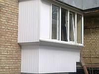 Вынос балконов по подоконнику