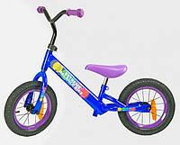 Велобег детский BB 002: 90х65 см, надувные колеса, стальная рама, светоотражающие катафоты