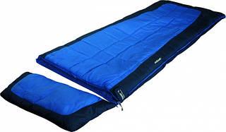 Комфортный спальный мешок High Peak Camper / -3°C (Left) Blue 922681 синий