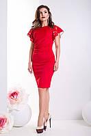 Элегантное женское платье-футляр 21324 (два цвета)