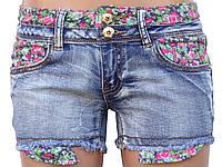 Красивые летние шорты из джинса