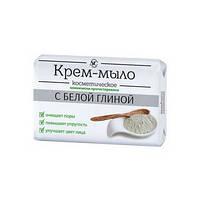 """Крем-мыло с белой глиной """"Косметическое"""" Невская Косметика 90гр"""