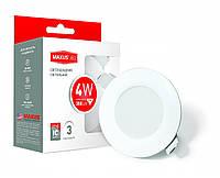 Светодиодные светильники потолочные LED точечные Maxus SDL mini, 4W нейтральный свет
