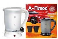 Чайник автомобильный электрический А-Плюс 1518 авточайник