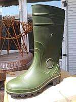 Сапоги короткое Резина. зеленые 41 размер