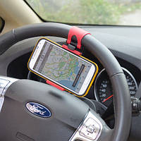 Держатель телефона на руль авто HOLDER 800 автомобильный держатель