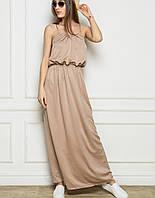 Атласное платье в пол | Federica sk