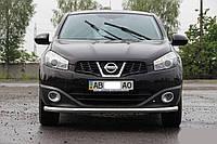 Передняя дуга защитная Nissan Qashqai (2014+)