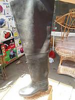 Сапоги заброды Кандраково. Резина (черные) 44 размер.