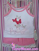 Набор для девочки майка с шортами Fly р. 68