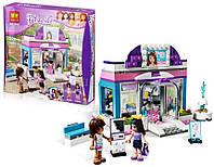 Игра для девочек: конструктор BELA FRIENDS 10156 Салон красоты «Butterfly», для детей 6+, 220 деталей с фигурк