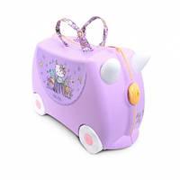Чемодан дорожный детский Trunki Hello Kitty Lilac