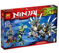 Конструктор для мальчиков Ninja 79132 Битва Драконов, 6+, 959 деталей: Джей против Великого Пожирателя