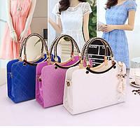 Качественная женская сумка из PU кожи. Практическая и удобная сумка. Стильный аксессуар. Купить. Код: КД128