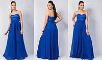 Платье женское корсет в пол, фото 1