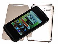 Телефон HTC G12i mini - MP3, FM, СЕНСОРНЫЙ, 2 SIM + ЧЕХОЛ!