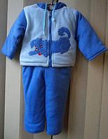 Детский флисовый костюм 037 на синтепоне