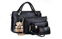 Отличная женская сумка. Удобная в использовании. Стильный дизайн. Набор сумок. Купить онлайн. Код: КД132