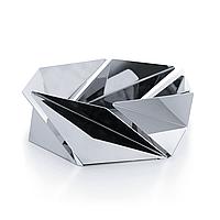 Фруктовница (ваза для фруктов) Kaleidos Alessi Полированная сталь