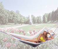 Гамак туристический для отдыха на природе A1013 Ост-фран