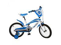 Велосипед PROFI 16д., голубой