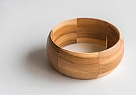 Браслет ручной работы из натурального дерева