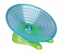 Trixie (Трикси) Running Disc Беговой диск для мышей и карликовых хомячков тренажер пластик 17 см