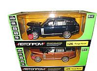 Машинка металлическая коллекционная Range Rover Vogue 68263A Автопром