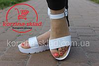 Женские сандалии / босоножки силиконовые на тракторной подошве