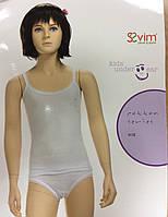 Майка для девочки белая Sevim размер 140