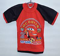 Футболка для мальчика 3-7 лет MCQueen красная