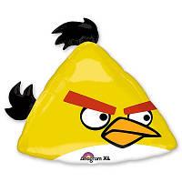 Фольгированный шар большой Angry birds 70см