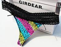 Стринги гипюр Victoria's Secret, разноцветные